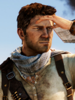 Uncharted 3 Drake in the face hand